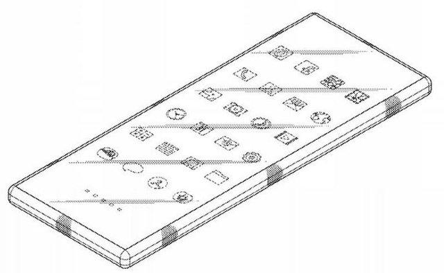Samsung розробляє смартфон, який можна зігнути у 'вісімку' - фото 407476