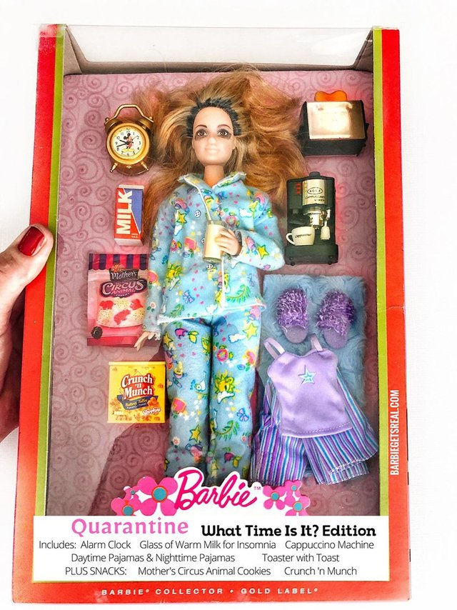 Барбі на карантині: з'явилась колекція реалістичних іграшок - фото 407502