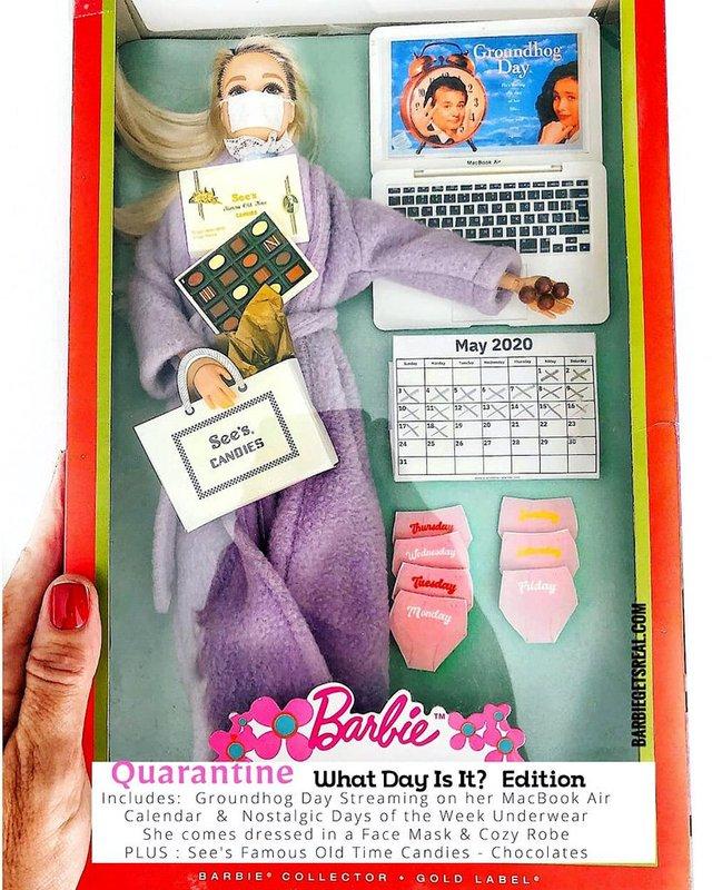 Барбі на карантині: з'явилась колекція реалістичних іграшок - фото 407503
