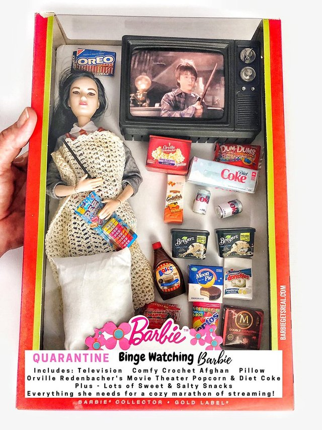 Барбі на карантині: з'явилась колекція реалістичних іграшок - фото 407504