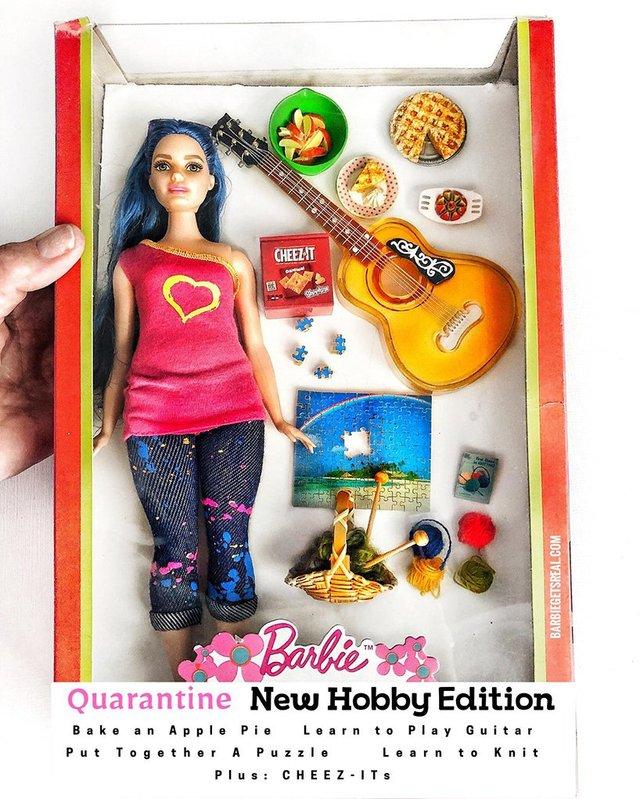 Барбі на карантині: з'явилась колекція реалістичних іграшок - фото 407507