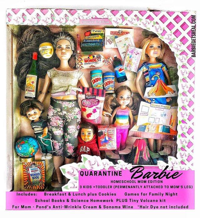 Барбі на карантині: з'явилась колекція реалістичних іграшок - фото 407509