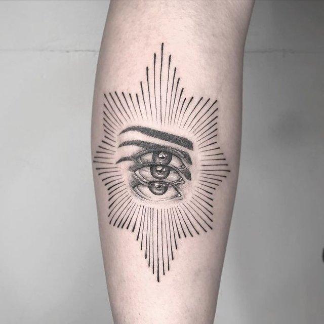 Це не оптична ілюзія: незвичайні татуювання від мексиканського майстра - фото 407627