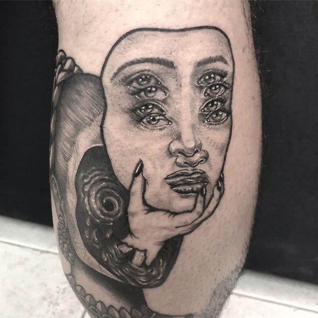 Це не оптична ілюзія: незвичайні татуювання від мексиканського майстра - фото 407631