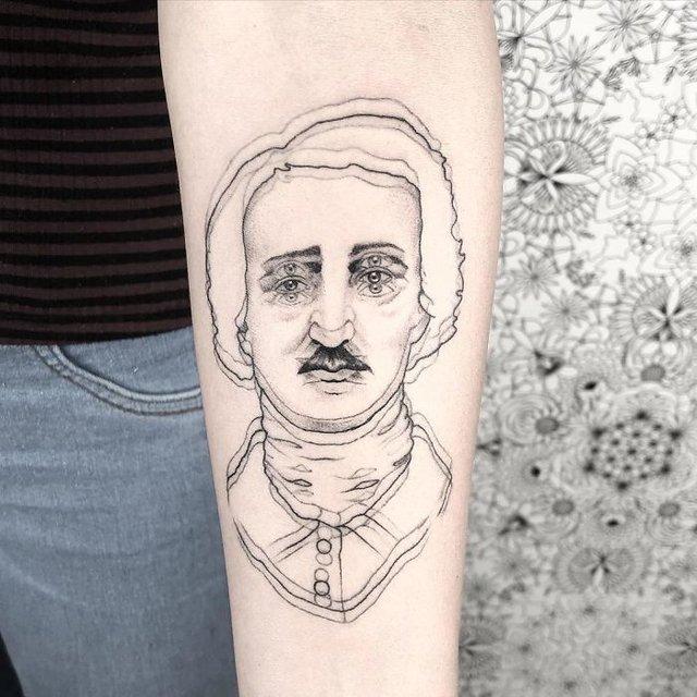 Це не оптична ілюзія: незвичайні татуювання від мексиканського майстра - фото 407633