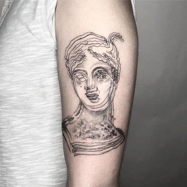 Це не оптична ілюзія: незвичайні татуювання від мексиканського майстра - фото 407634