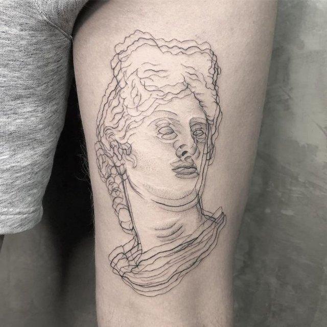 Це не оптична ілюзія: незвичайні татуювання від мексиканського майстра - фото 407637