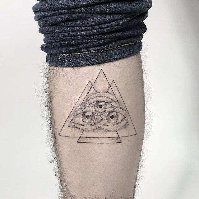 Це не оптична ілюзія: незвичайні татуювання від мексиканського майстра - фото 407640
