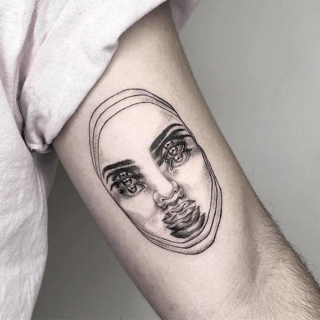 Це не оптична ілюзія: незвичайні татуювання від мексиканського майстра - фото 407641