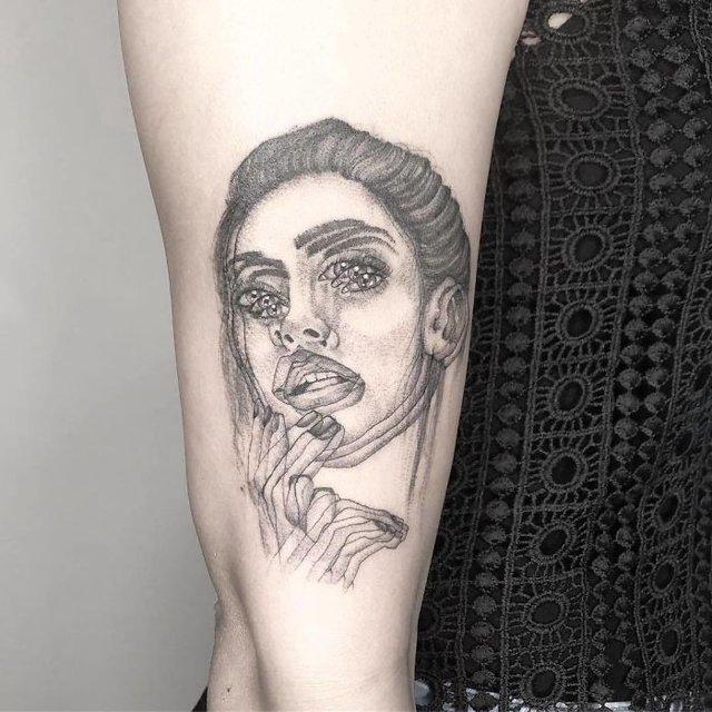 Це не оптична ілюзія: незвичайні татуювання від мексиканського майстра - фото 407643