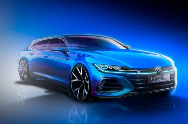 Volkswagen показав, як виглядатиме універсал Arteon - фото 407881