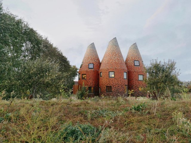 В Англії архітектори створили дім у вигляді хмелесушарки: ефектні фото - фото 408854