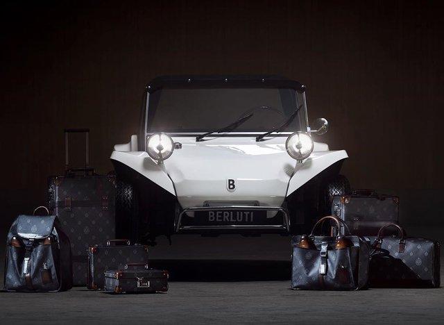 Модний будинок випустив власний оригінальний пляжний автомобіль - фото 409185