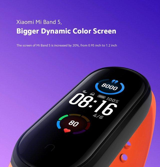 Представлено Xiaomi Mi Band 5: магнітна зарядка, NFC та збільшений екран - фото 409505