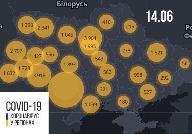 Новини про коронавірус в Україні: скільки хворих на Covid-19 станом на 14 червня - фото 410002