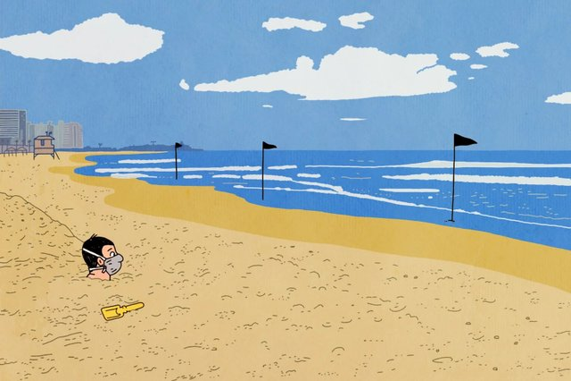 Художники з різних країн світу намалювали листівки на тему пандемії - фото 410057