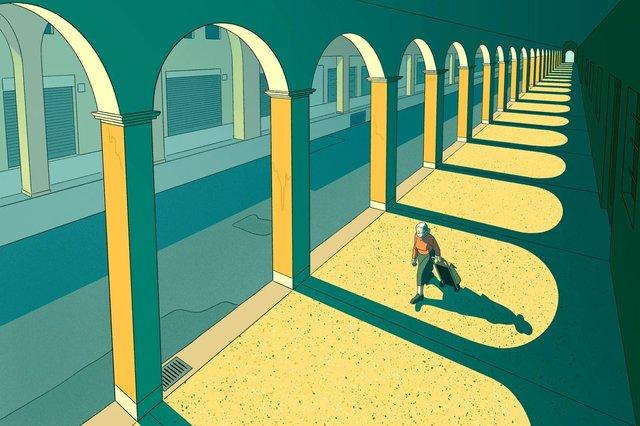 Художники з різних країн світу намалювали листівки на тему пандемії - фото 410058