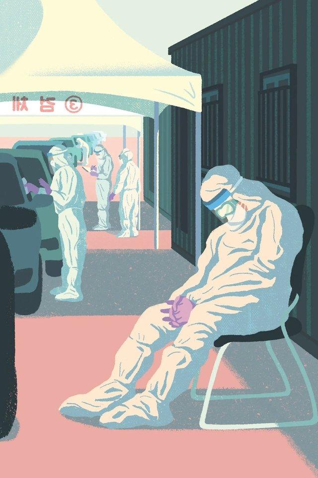 Художники з різних країн світу намалювали листівки на тему пандемії - фото 410061
