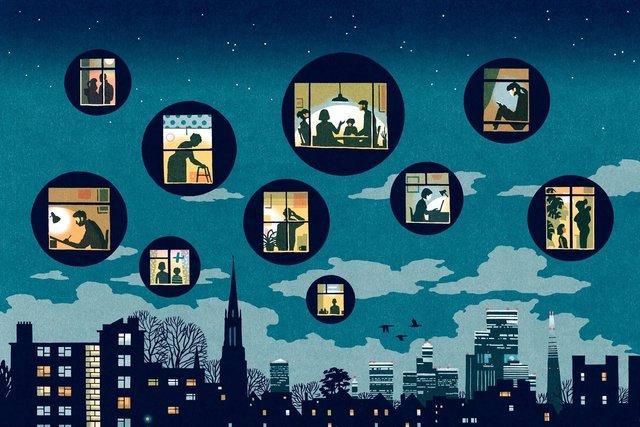 Художники з різних країн світу намалювали листівки на тему пандемії - фото 410062