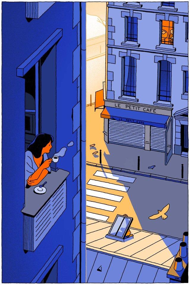 Художники з різних країн світу намалювали листівки на тему пандемії - фото 410064