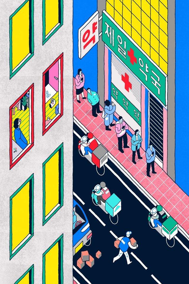 Художники з різних країн світу намалювали листівки на тему пандемії - фото 410066