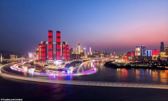 У Китаї побудували горизонтальний хмарочос: вражаючі фото - фото 410134