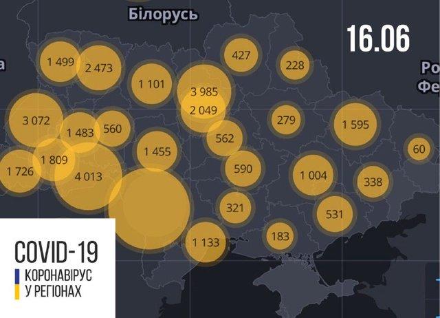 Новини про коронавірус в Україні: скільки хворих на Covid-19 станом на 16 червня - фото 410333