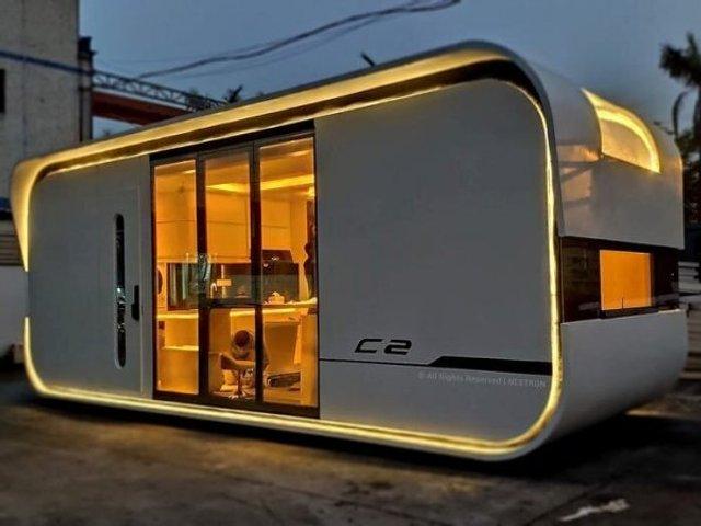 Як виглядає розумний дім на 25 квадратних метрах: фото - фото 411337