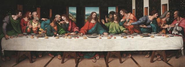 Google оцифрував Таємну вечерю в надвисокій роздільній здатності - фото 411386