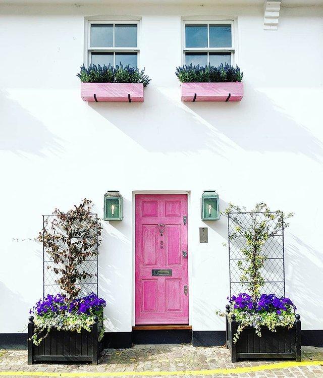Квітучі помешкання Лондона, які приковують погляд (фото) - фото 411723