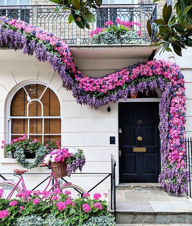 Квітучі помешкання Лондона, які приковують погляд (фото) - фото 411729