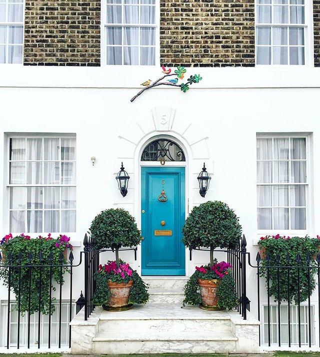 Квітучі помешкання Лондона, які приковують погляд (фото) - фото 411739