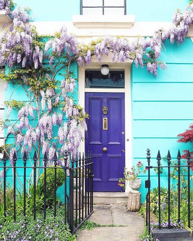 Квітучі помешкання Лондона, які приковують погляд (фото) - фото 411740
