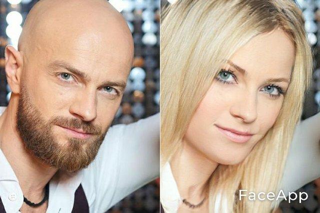Від Притули до Ями: зацініть, як виглядають жіночі версії українських зірок - фото 411761