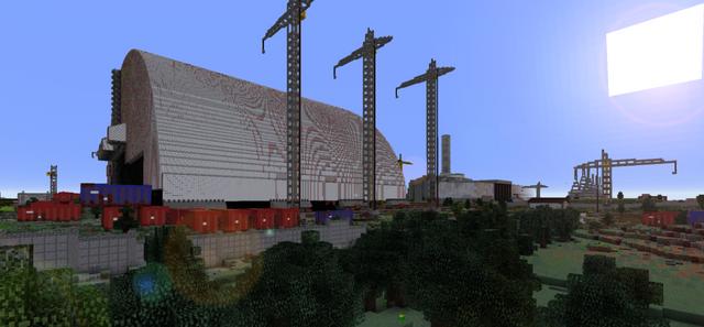 Геймер з Чехії відтворив Чорнобильську АЕС у Minecraft - фото 412060
