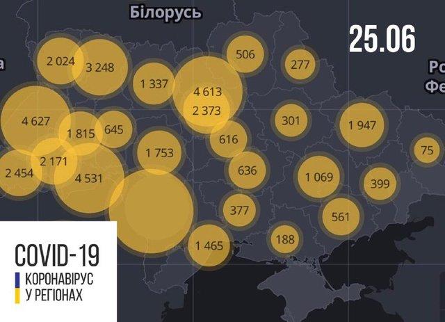 Новий антирекорд: статистика, скільки хворих на коронавірус виявлено в Україні 25 червня - фото 412169