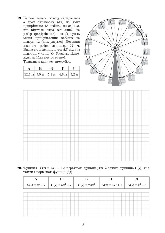 ЗНО 2020 з математики: оприлюднені завдання та задачі з тесту - фото 412345