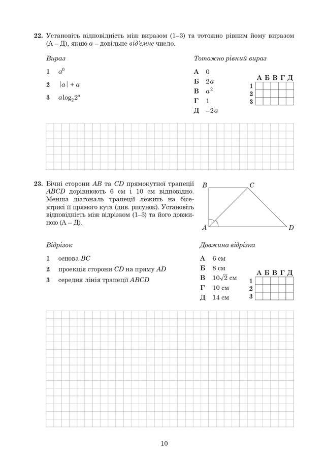 ЗНО 2020 з математики: оприлюднені завдання та задачі з тесту - фото 412347