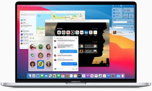 Експерт назвав головну фішку нового дизайну macOS Big Sur - фото 412657