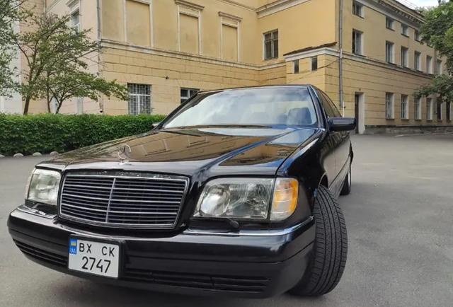 В Україні продають 'авторитетне' авто з 90-х в ідеальному стані - фото 413407