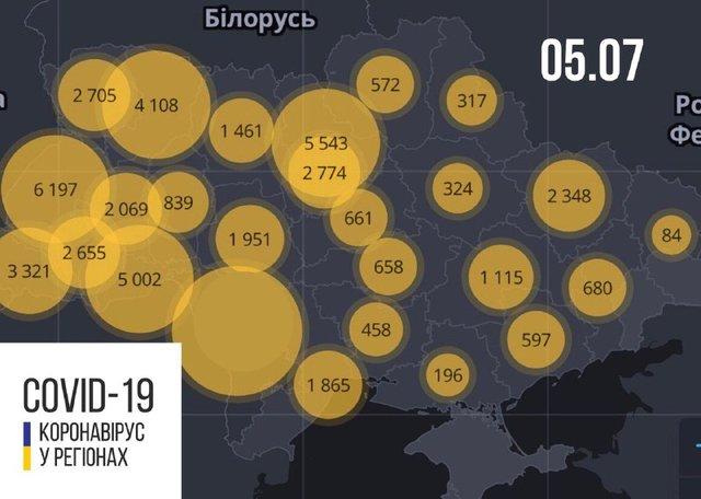Новини про коронавірус в Україні: скільки хворих на Covid-19 станом на 5 липня - фото 414041