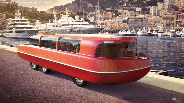 Як люди минулого століття уявляли подорожі в 2020-му: наочні ілюстрації - фото 414408