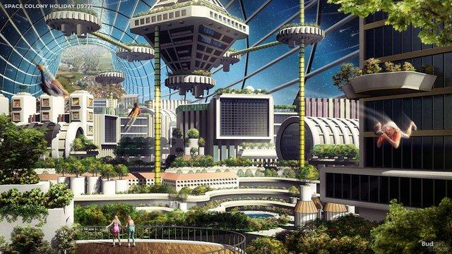 Як люди минулого століття уявляли подорожі в 2020-му: наочні ілюстрації - фото 414411