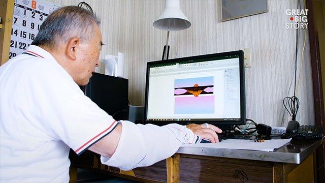80-річний японець створює шедевральні картини у Microsoft Excel - фото 414537
