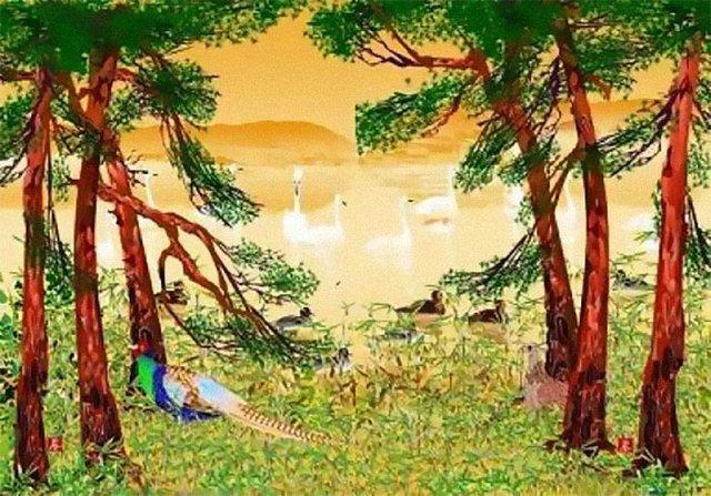 80-річний японець створює шедевральні картини у Microsoft Excel - фото 414538