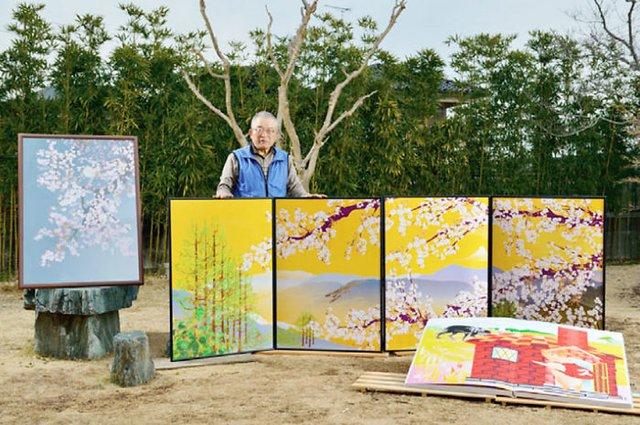 80-річний японець створює шедевральні картини у Microsoft Excel - фото 414540