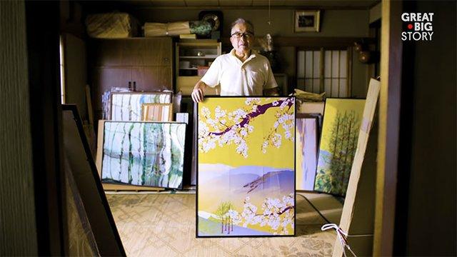 80-річний японець створює шедевральні картини у Microsoft Excel - фото 414541