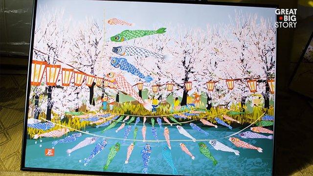 80-річний японець створює шедевральні картини у Microsoft Excel - фото 414543