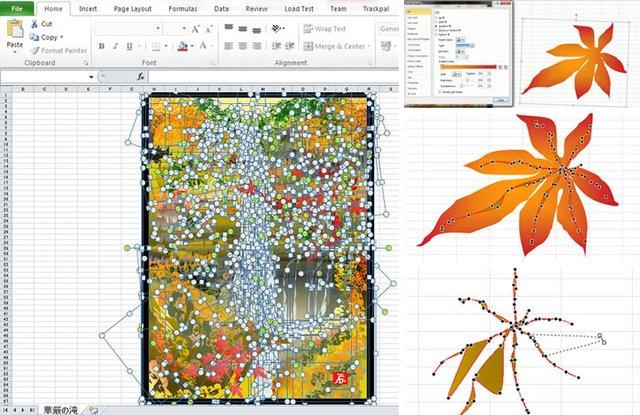 80-річний японець створює шедевральні картини у Microsoft Excel - фото 414544