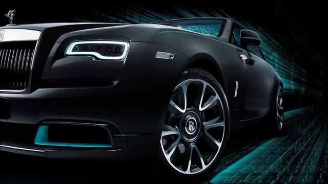 Rolls-Royce зашифрував таємне послання в автомобілі Wraith Kryptos - фото 414632